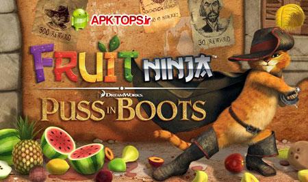 نسخه pib از بازی فوق العاده مهیج Fruit ninja برای آندروید Fruit ninja pib 1.0