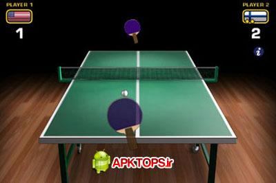 بازی فوق العاده زیبا و مهیج پینگ پنگ آندروید با گرافیک بالا Ping Pong WORLD CHAMP v2.8.0