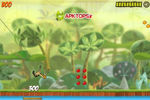 بازی زیبا و فانتزی تارزان عصبانی برای آندروید Angry Tarzan v1.0