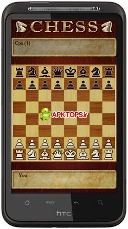 بازی مهیج شطرنج با گرافیک بالا و قابلیت آموزش برای آندروید  Chess 1.57 For Android