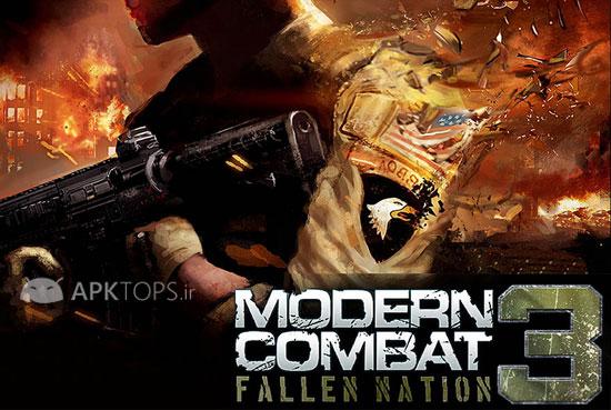 Modern Combat 3 Fallen Nation 1.1.1