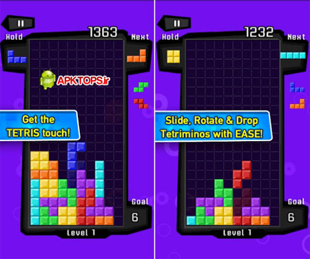 دانلود بازی مهیج خانه سازی برای آندروید ( نسخه پولی ) TETRIS 1.0.2585 Paid Version