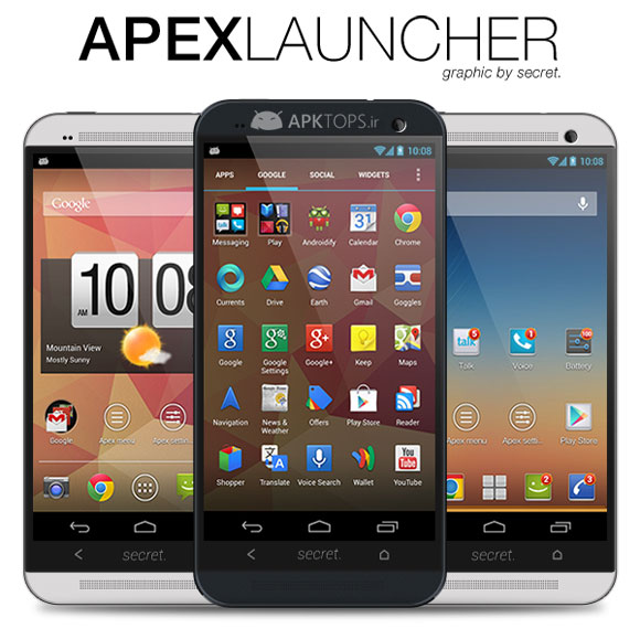 Apex Launcher Pro 2.2.0 Final