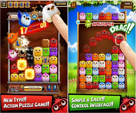 دانلود بازی مهیج و گرافیکی پازل Birzzle برای آندروید Birzzle 2.00