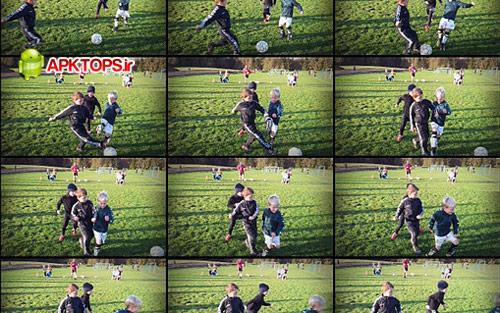 دانلود نرم افزار گرفتن عکس های متوالی برای آندروید Fast Burst Camera 3.0.2