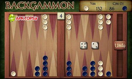 دانلود نسخه پولی از بازی مهیج و پر طرفدار تخته نرد برای آندروید Backgammon paid 1.701