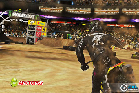 دانلود بازی مهیج موتورسواری با گرافیک خارق العاده برای آندروید به همراه دیتا Ricky Carmichael's Motocross