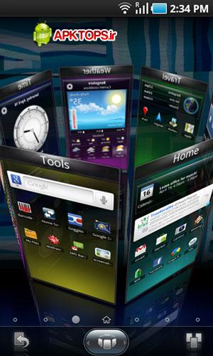 با SPB Shell 3D گوشی آندرویدی خود رامتحول کنید ! SPB Shell 3D 1.6  android