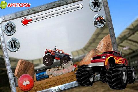 بازی فوق العاده زیبا و مهیج اتومبیل سواری Top Truck برای آندروید Top Truck Free 1.2.4