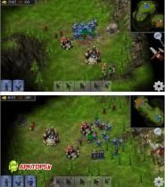 بازی گرافیکی و استراتژیک برای آندروید Esenthel RTS 4.0