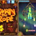 دانلود بازی مهیج و معتادکننده طناب را بسوزان برای آندروید Burn The Rope+ 1.2.20