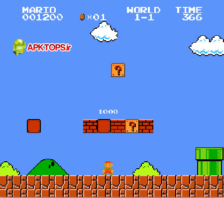 دانلود بازی خاطره انگیز و فوق العاده مهیج سوپر ماریو یا قارچ خور برای آندروید Super Mario Bros 2.0