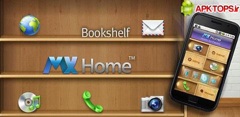 دانلود لانچر متفاوت MXHome Launcher  با قابلیت های جالب و تم های واقعا زیبا MXHome Launcher 3.0.1