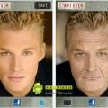 دانلود نرم افزار تبدیل چهره افراد به چهره پیر برای آندروید Aging Booth 1.4