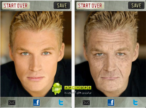 نرم افزار تغییر چهره پیری