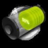 3D Battery Widget