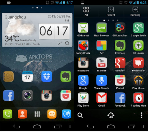 GO Launcher EX Prime v4.01 build 255 Final