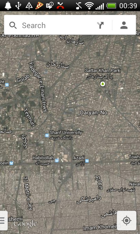 Google Maps Final v10.17.1 دانلود برنامه نقشه های گوگل مپ