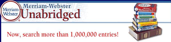 Merriam-Webster's Unabridged 3.4.217.26599