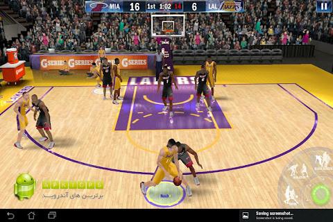 دانلود نسخه کاملا آفلاین بازی بسکتبال با گرافیک فوق العاده به همراه دیتا برای آندروید NBA 2K131.0.9 Offline