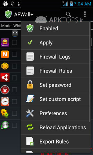 AFWall+ (Android Firewall) 1.2.9 (2)