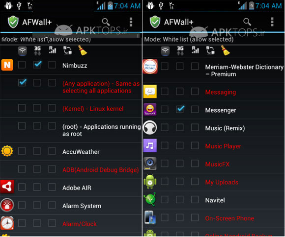 AFWall+ (Android Firewall) 1.2.9