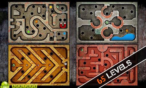 دانلود بازی فوق العاده هیجانی و اعتیاد آور حرکت گوی بر روی تخته ها برای آندروید Labyrinth Game 1.0.0