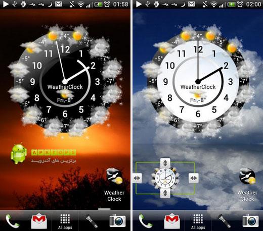 Weather-Clock
