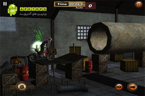 دانلود بازی فوق العاده مهارت موتور سواری به همراه دیتا برای آندروید Xtreme Wheels 1.5