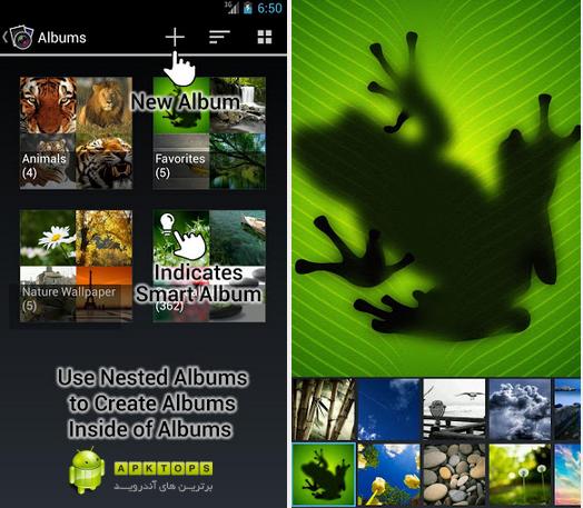 دانلود یکی از بهترین و زیباترین نرم افزارهای گالری آندروید F-Stop Media Gallery Pro v2.2.1
