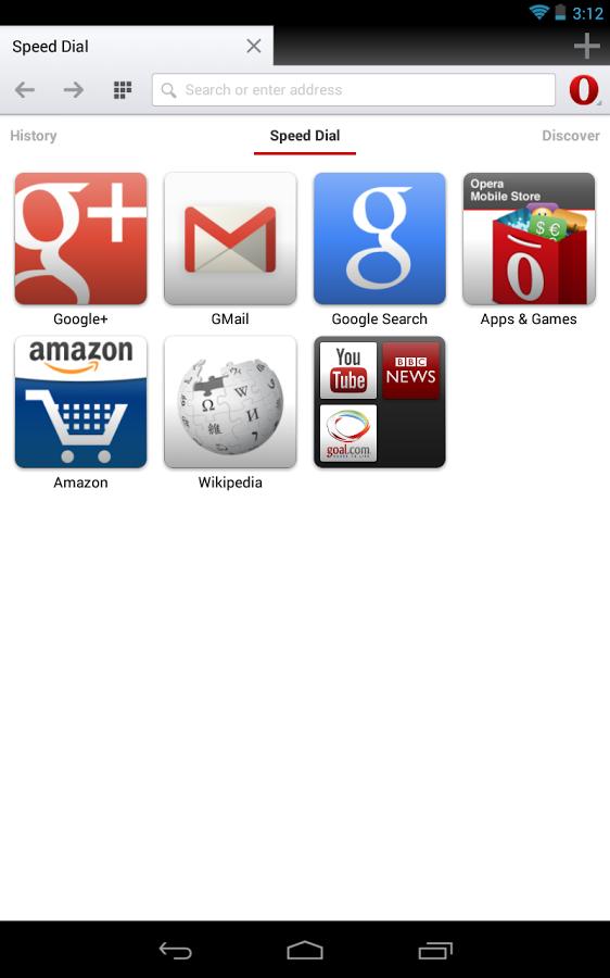 Opera browser v49.0.2361.133821 دانلود مرورگر اپرا