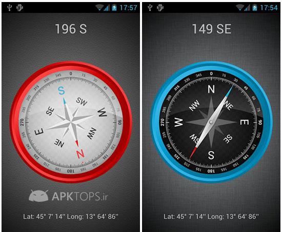 دانلود نرم افزار قطب نمای بسیار زیبا با قابلیت کالیبره برای ...Compass Plus 2.0.15 (2)