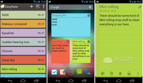 EasyNote Notepad  To Do List 1.4.4