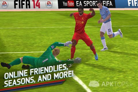 Fifa v1.3.6 Full Unlock دانلود نسخه فول آنلاک بازی فیفا 14 اندرویدFIFA 14 by EA SPORTS™ 1.2.8 (2)