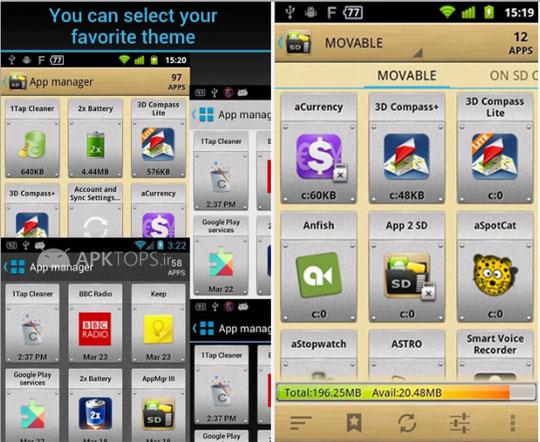 AppMgr Pro III (App 2 SD) 3.20  (2)