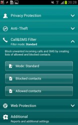 Kaspersky Mobile Security 4