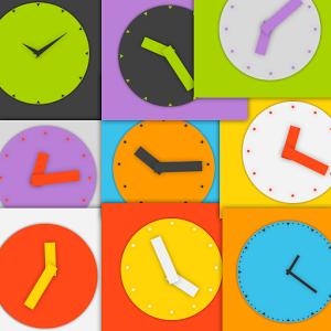 Wow KitKat Clock Widgets 1.1