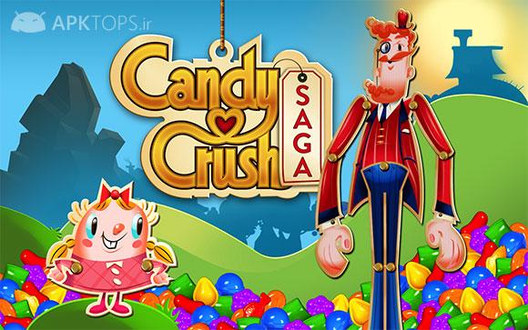 دانلود Candy Crush Saga 1.46.3 بازی کندی کراش برای اندروید + مود