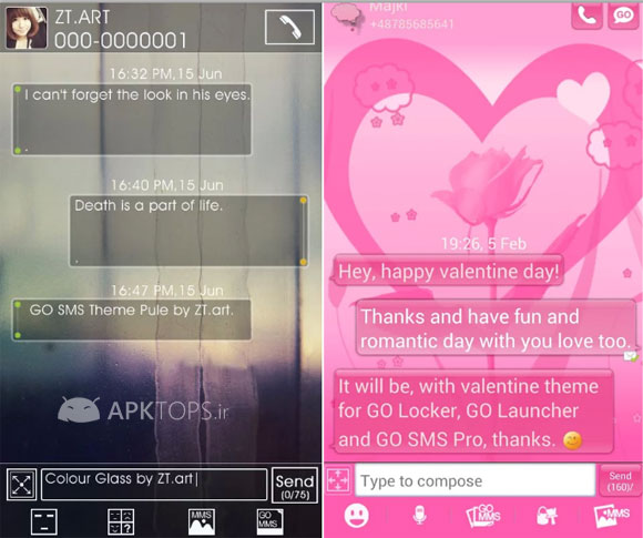 Go SMS Theme Pack