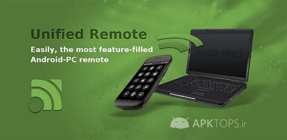 دانلود Unified Remote Full 3.1.6 نرم افزار کنترل کامپیوتر توسط گوشی اندروید
