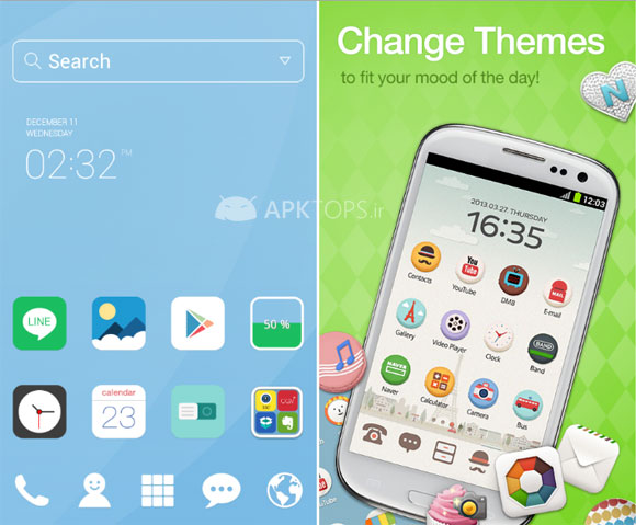dodol Launcher - phone decor 1.1.2008 (2)