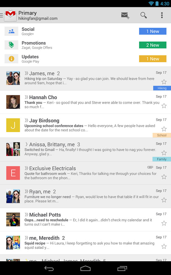 Gmail v2019.07.07.259347730.release دانلود نسخه جدید جی میل اندروید