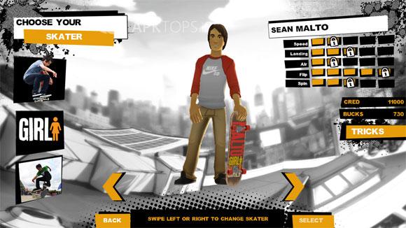 دانلود بازی اسکیت سواری Endless Skater برای آندروید