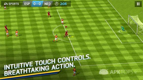 بهترین های اندرویدFIFA 14 by EA SPORTS™ 1.3.6 (2)