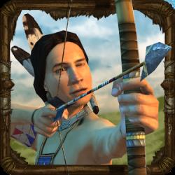 دانلود بازی سرخ پوستان شکارچی به همراه دیتا برای اندروید Evolution: Indian Hunter 0.9