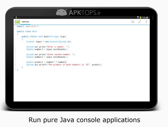 AIDE- IDE for Android Java C++ Unlocked v3.2.190305 نرم افزار برنامه نویسی
