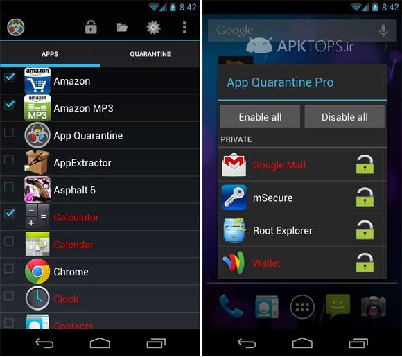 App Quarantine Pro ROOTFREEZE 3.0 (2)
