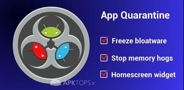 App Quarantine Pro ROOTFREEZE 3.0