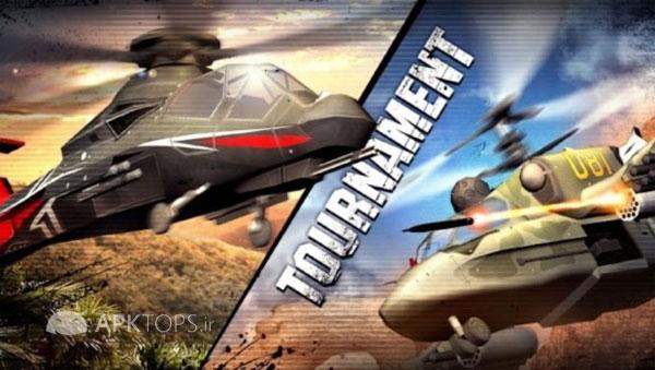 دانلود CHAOS Combat Copters HD 6.6.0 بازی مهیج و گرافیکی هلیکوپترهای جنگی برای اندروید + دیتا