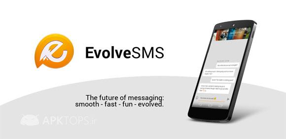 دانلود EvolveSMS 3.0.1 نرم افزار مدیریت اس ام اس و مسیجینگ اندروید